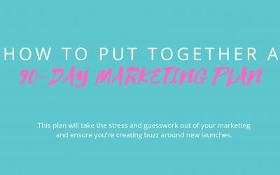 90-Day Marketing Strategy